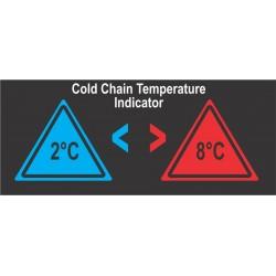 Cold Chain Temperature Indicator