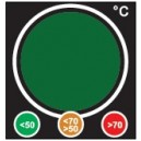 Temperature Safety Indicator - Traffic Light